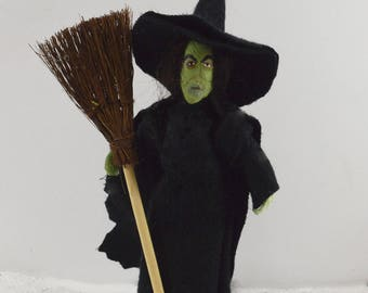 Wicked Witch of the West Wizard of Oz Doll Storybook Character
