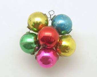 Vintage Christmas Ornament Glass Bead Ornament Christmas Decoration