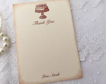 Birthday Thank You Cards, Happy Birthday Thank You Cards,Set of 10