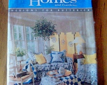 Butterick 4592 Better Homes and Gardens furniture covers sewing pattern