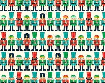 20EXTRA 25% OFF Riley Blake Nutcracker Christmas Minis Cream