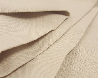 1 yard Rayon Linen Blend  - Natural