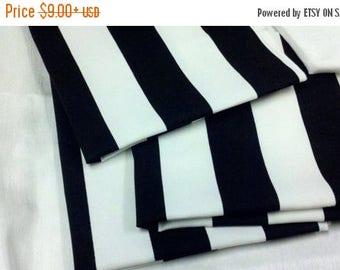 """ON SALE BLACK White Striped Table Runner,  Black white  Striped Runner, 11"""" wide  36 48 60 72 84 96 108,  Nautical, Beach stripes, Wedding,"""