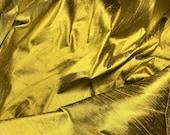 Antique Gold Silk DUPIONI Fabric - fat 1/4