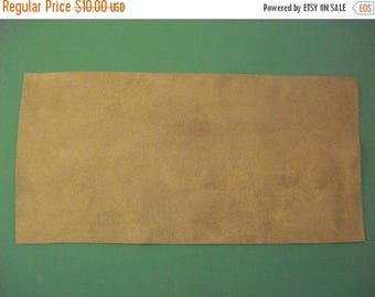 """50% OFF SALE Faux Suede - Fawn - Ultra Suede - Cappuccino - Fabric Block -  Beading & Craft Projects - 6"""" x 12"""""""