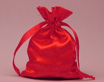 Summer Sale 12 Pack  3 X4  inch Satin Drawstring Bags Inch Size Great For Gifts, Favors, Sachets, Weddings