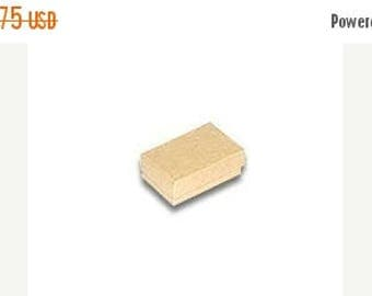 STOREWIDE SALE 20 Pack of 2.5X1.5X1 Inch Size Kraft Cotton Filled Jewelry Gift Merchandise Boxes