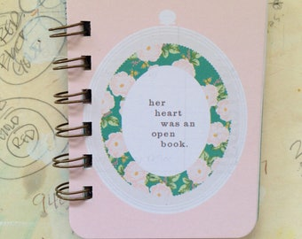 Open Book - Mini Jotter Notebook