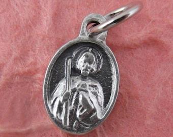3 Mini Saint Jude Medals - Tiny St Jude Medals