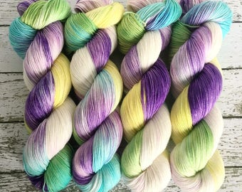 ISABELLE - Hand Dyed Yarn - Signature Merino Nylon Sock Yarn Fingering - Ready to Ship - Vivid Yarn Studio