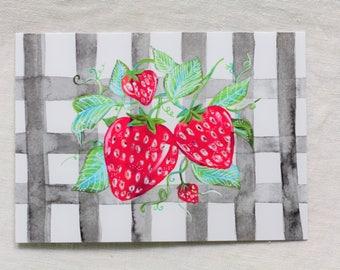 Sweet Strawberries Card