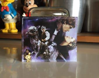 Star Wars Disneyland Map Mini Wallet