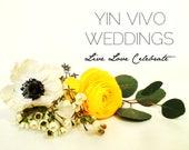 Custom Order - Reserved By Yin Vivo Weddings