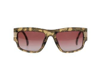 CHRISTIAN DIOR Vintage Black OPTYL 2607 53/18 Sunglasses Cannage Nos