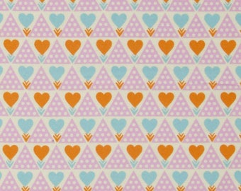 Clearance 1/2 yard Hearts Flannel Anna Maria Horner Pretty Potent Family Unit Powder for Free Spirit Fabrics