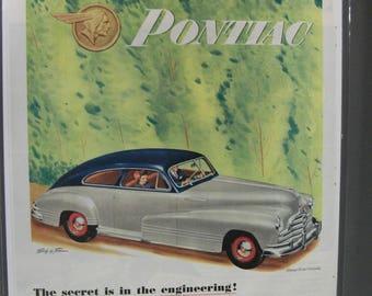 Pontica #118   Pontiac     Magazine Ad -  1947