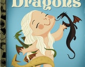 The Little Mother of Dragons 5x7 POSTCARD