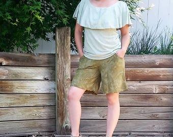 Hemp Blooming Walking Shorts