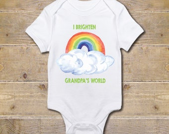 Grandpa Onesie, Grandfather Onesie, Grandpa's Girl, Gift from Grandpa, Grandpa Baby Clothes, Baby Shower Gift, Poppy