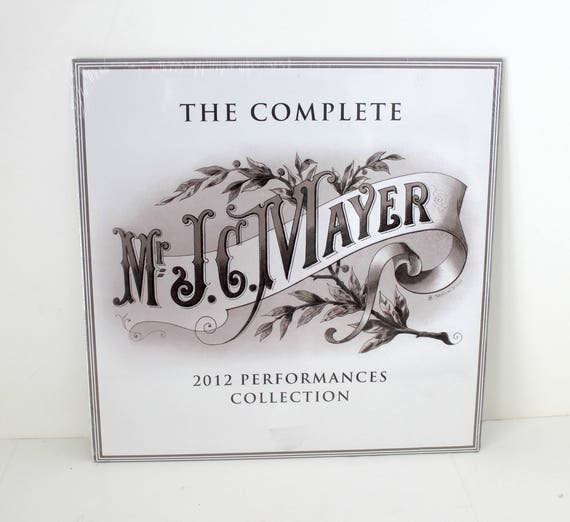 Mr. J.C. Mayer The Complete 2012 Performances Collection LP, New Sealed, John Mayer Vinyl Record