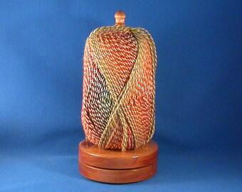 Select Spanish Cedar Yarn/Thread Holder - Specialty Lacquer Finish
