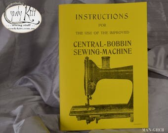 Generic German Central Bobbin Instruction Booklet