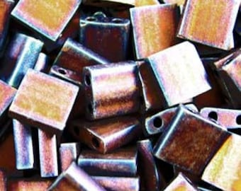 Tila Beads from Miyuki   Matte Metallic Copper 2005
