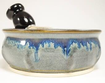 Wet Shave Bowl - Large Bowl Shaving - Wetshave Ceramic - Wet Shaving Dish - Shaving Soap Bowl - Wet Shave Pottery - Shaving Bowl - In Stock