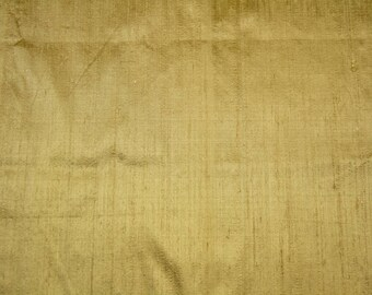 Sample Swatch  - Raw silk Dupioni Gold