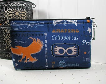 Ravenclaw Spells Pouch/ Hogwarts House Pouch/ Harry Potter Pouch