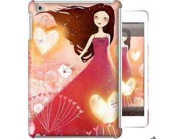 10% Off - Summer SALE iPad - iPad mini Case - Heart Lanterns