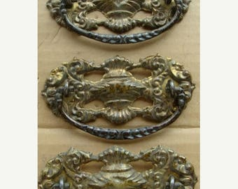 ONSALE Antique Gorgeous French Crown Hardware Salvaged Lot