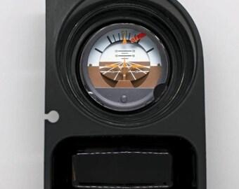 Attitude Indicator Aviation Round Car Cupholder Coaster