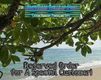 Custom Order for SANDRA S.
