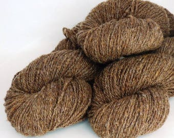 Handspun Wool Yarn!  250 Yards of Worsted Weight for Your Favorite Socks!