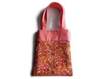 Paisleys and Flowers - Gift Bag - Goodie Bag - Mini Tote