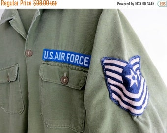 40% OFF The Patched U.S. Air Force Button Down Shirt