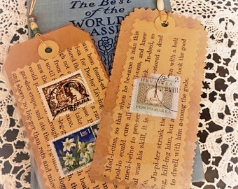 Pair of Handmade Bookmarks