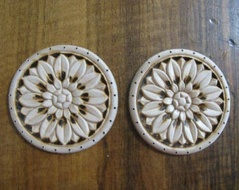 2 Round Sunflower Basket Base Board Supplies For Basket Making