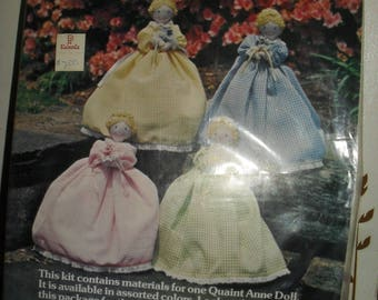Craft Kit - Vintage Quaint Anne Doll Kit -  Yours truly - 1979