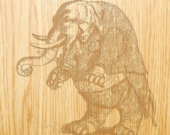 Musical Elephant - Image Design Library