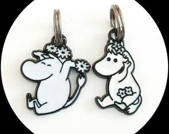 Moomin stitch markers