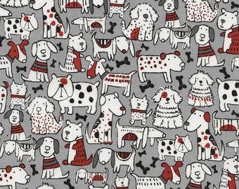 Nap Mat - Monogrammed Dog Mix Nap Mat with Red Minky Dot Blanket