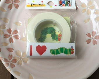 I Love Very Hungry Caterpillar OFFICIAL GOODS Japanese Funtape Masking Tape 15mm x 15m