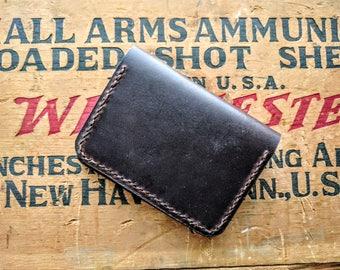 Horween Chromexcel Leathe Bi-Fold Card Wallet