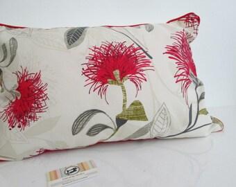 New Zealand Pohutakawa Flower Cushion