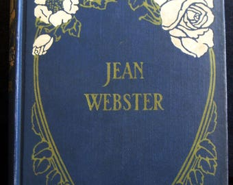 Daddy Long Legs, Jean Webster, First Edition 1912, Navy Blue Clothbound, Orphan Girl, Excellent Condition Antique Classic Book
