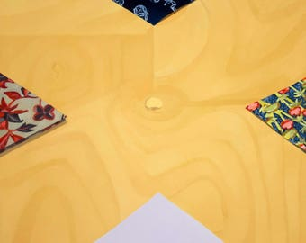 Four Origami Papers - Original Painting