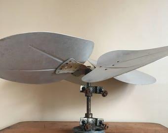 Fan blade etsy for Repurpose ceiling fan motor