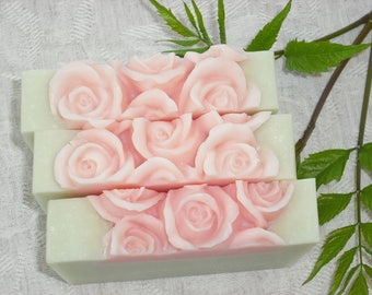 Julia's Garden Soap / Citrus Floral Scent / Mother's Day Gift / Feminine Soap / For Her /  Cold Process Handmade Soap